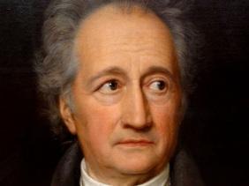 J.W.Goethe retrat
