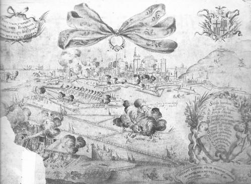 1697 Setge Barcelona, de F Cànoves BN