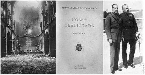 1914 1930 Pulso social, cultural, militar y monárquico en Cataluña BN