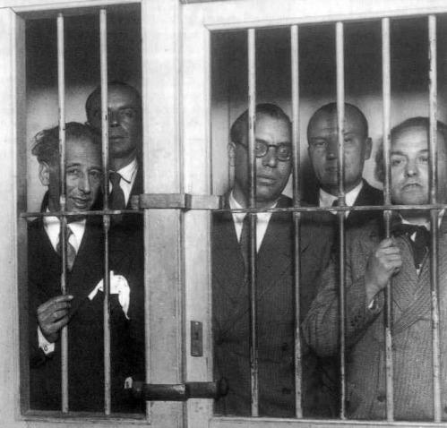 1934 Gobierno de la Generalitat de Cataluña encarcelado BN