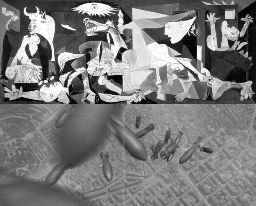1937 1938 Bombardeos en Gernika y en Barcelona BN