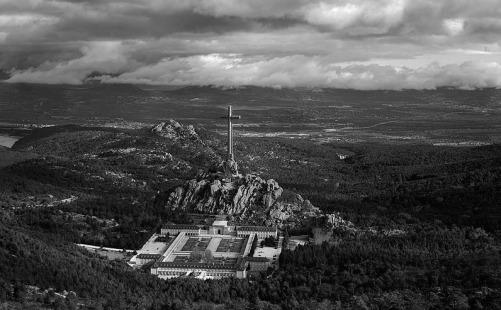 2012 Valle de los Caídos, fotografia de Jorge Díaz Bes BN